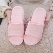 7 Colors Casual Summer Solid Antiskid Home Indoor Bathroom Slippers Unisex Sandals