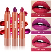 Outdoor Moisturizing Lipstick Sexy Ladies Party Gift Non-stick Red Lip Makeup Stick