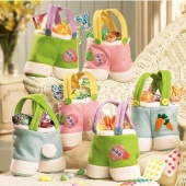Easter Bunny Pants Shaped Candy Gifts Bag