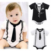 Toddler Infant Kids Baby Girl Boy Print Clothes Casual Romper Playsuit Jumpsuit Amazinglook