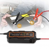 6V/12V Car Motorcycle Lawn Mower Automatic Battery Charger Smart Accumulator Recharger