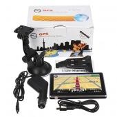 4GB 4.3 Inch TFT Touch Screen LCD Car GPS Navigation SAT NAV MP3 FM Free Map Update