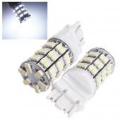 3156 3157 HID Pure White T25 60 SMD LED Car Daytime Running Light Bulbs DC 12V