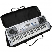 Protable 61Key Piano Keyboard Case Bag Electronic Music Carry Oxford Cloth Black