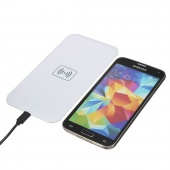 5V 1A Qi Wireless Charger Pad + Receiver + USB Cable for Samsung Galaxy S5 I9600