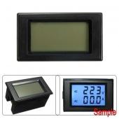 Digital Voltmeter Ammeter Blue LCD Panel Amp Volt Meter Transformer AC 100A 300V