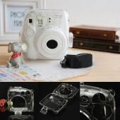 Clear Crystal Protect Hard Camera Cover Case for Fuji Fujifilm Intax Mini 8/8S