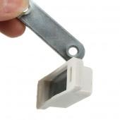 Cupboard Door Cabinet Magnetic Catch Self-Aligning Holder Latch Stopper