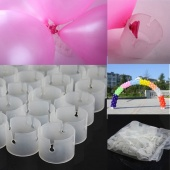 50 Decorative Easily Balloons Connectors Clips DIY Arches Wedding Party Prom