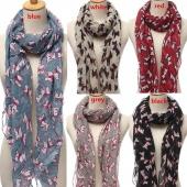 New Fashion Winter Women Animal Warm Shawl Print Scarf Wraps Stole Pashmina