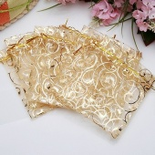Fashion Cute Wedding Party Jewelry Candy Organza Drawstring Favour Gift Mini Bags Pouches Hot Gifts