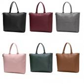 Fashion Women Pu Leather Handbag Shoulder Bag Tote Purse