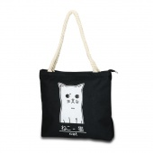 Fashion Handbags Simple Cat Printing Bag