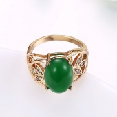 Trend Artificial Jade Lady Ring