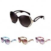 Fashion Sunglasses Anti - ultraviolet Sunglasses Ladies Glasses