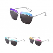 Colorful Personality Sunglasses Fashion Men Sunglasses Oval Shape Glasses Outdoor Travel Accessories