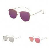 Fashion Metal Border Sunglasses Concise Ladies Glasses