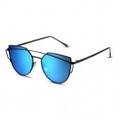 Stylish Unisex Sunglasses Oval Style Glasses Metal Eyeglasses Frame UV400 Sunglasses