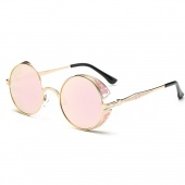 Vintage Personality Sunglasses Fashion Metal Women Eyeglass UV Protection Sun Glasses Outdoor Travel Accessories
