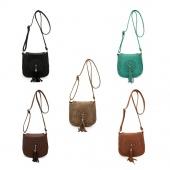 Fashion Handbags Lady Leather Bag Hollow Out Single Shoulder Bag Messenger Bag