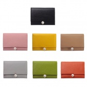 Simple Fashion Women bags Leather Short Wallet Credit Card Purse