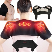 Heat Therapy Pad Belt Self-Heating Neck Support Relieve Shoulder Neck Pain Magnetic Therapy Massage