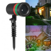 LED Red Green Shower Laser Projector Star Light Waterproof Landscape Lamp SMD