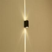 6W Narrow Beam LED Waterproof Wall Lamp Up & Down Lighting Decor