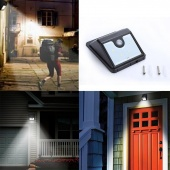 4 LED Solar Motion Sensor Street Light Outdoor Security Garden Lamps Bright New