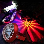 1 Pc LED Flashing Light Motorcycle Car General Chassis Spotlight Decorative Taillight