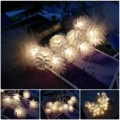 20 Led String Pine Cone Decor Light