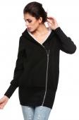 Korea Women Hoodie Jacket Coat Warm Outerwear Hooded Zip