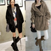 Women's Hoodie Down Warm Outerwear Cardigan Jacket Coat