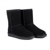 Unisex Winter Warm Snow Half Boots Shoes 6 Colors