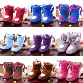 Korea Style Flower Lovely Home Shoes Floor Socks Boots Indoor Slippers Winter Foot Warmer 7colors
