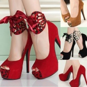 Fashion Women Ladies Sandals High Heel Platform Pumps Peep Toe Shoes 3 Colors