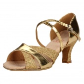 Fashion Women's Sexy Dance Shoes for Latin Ballroom Salsa Tango Glitter
