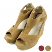 Women's Sexy Platform Shoes Sandal High Heels Wedge Party Peep-toe Shoes