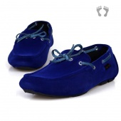 "Men""s Comfy Retro Casual Slip on Loafer Shoes Moccasins Driving Shoes"