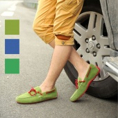 """Fashion Men""""s Lace Up Frost Boat Casual Shoes Slip on Canvas 3 Color 5 Sizes"""
