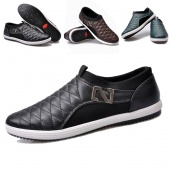 Men Leisure Fashion Sneakers Comfort Casual Loafers Shoes 3Colors