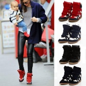 Fashion Women Casual Boots Height Increasing Sneakers Shoes 4 Colors 5 Sizes