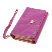 Envelope Card Wallet Leather Purse Case Cover for Samsung Galaxy S2 S3 Iphone 4S 5