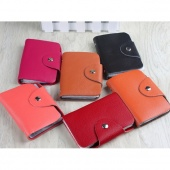 Credit Bank IC VIP Card Case Holder Pouch Keeper Wallet 26 Slots New