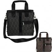"Men""s Messenger Shoulder Cross-Body Briefcase Handbag Computer Bag 17-18 Inch Bag 2 Colors"