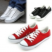Classic Casual Unisex Lacing Sneaker Lovers Canvas Shoes