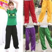Casual Boy Girl Loose Pants Hip Hop Sports Pants YOGA DANCING Trousers