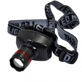 Camping Night Outdoor LED High Power Zoom Headlamp Adjustable Strap Durable