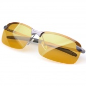 Men's Polarized Driving Sunglasses Yellow Lens Night Vision Driving Glasses Goggles Reduce Glare