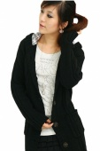 Style Womens Long Sleeve Hoodie Coat Cardigans Trench Sweater Hot Sale